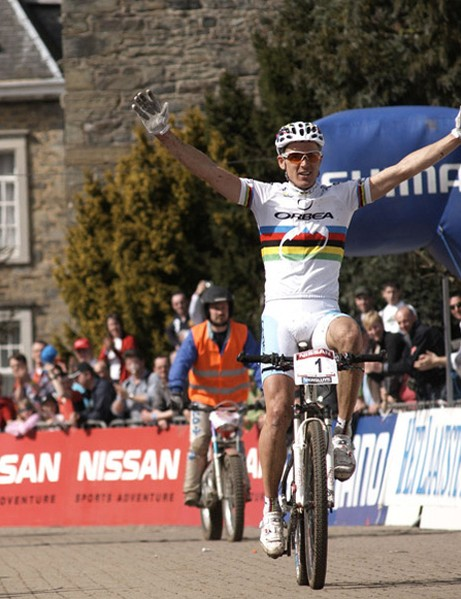 Absalon wins during the world cup