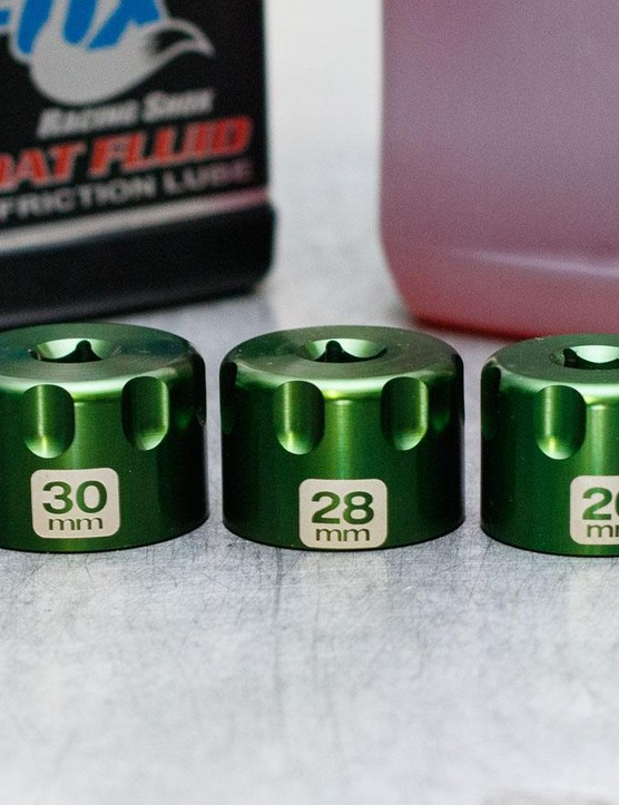 The sockets are all kept to about 25mm height and feature finger grips for easier handling when covered in oil