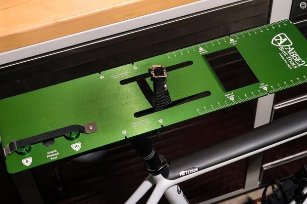 Abbey's new Saddle Fit Kit makes it easy to sort out your fore/aft saddle position on any bike