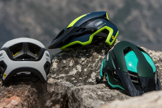 The Montrailer is Abus' first entry into the enduro helmet market