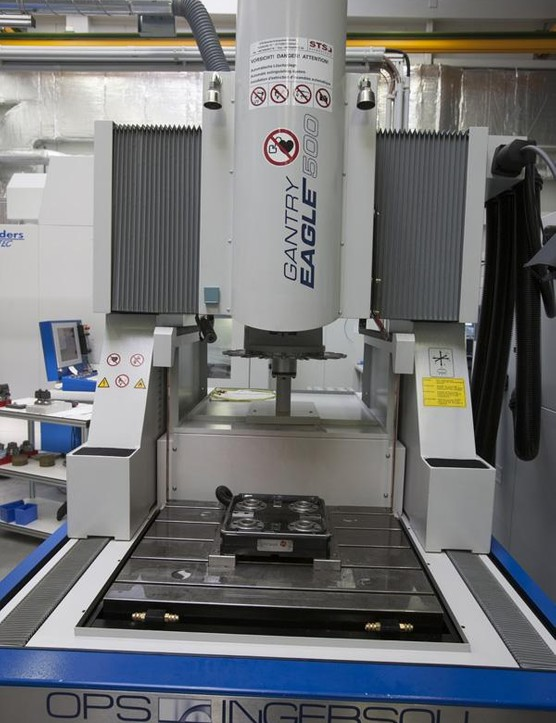 State of the art robotic controlled CNC machines sit alongside more traditional machinery