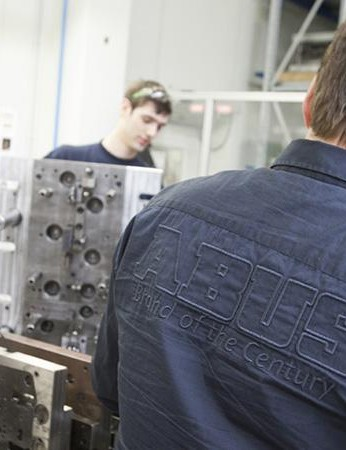 A heavily staffed engineering team maintain and manufacture tooling