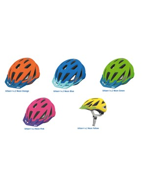 The Urban -I v.2 helmet comes in five colors and Medium and Large sizes