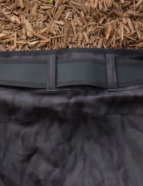 The Traverse XC has a wide, built-in waistband to keep them from sagging