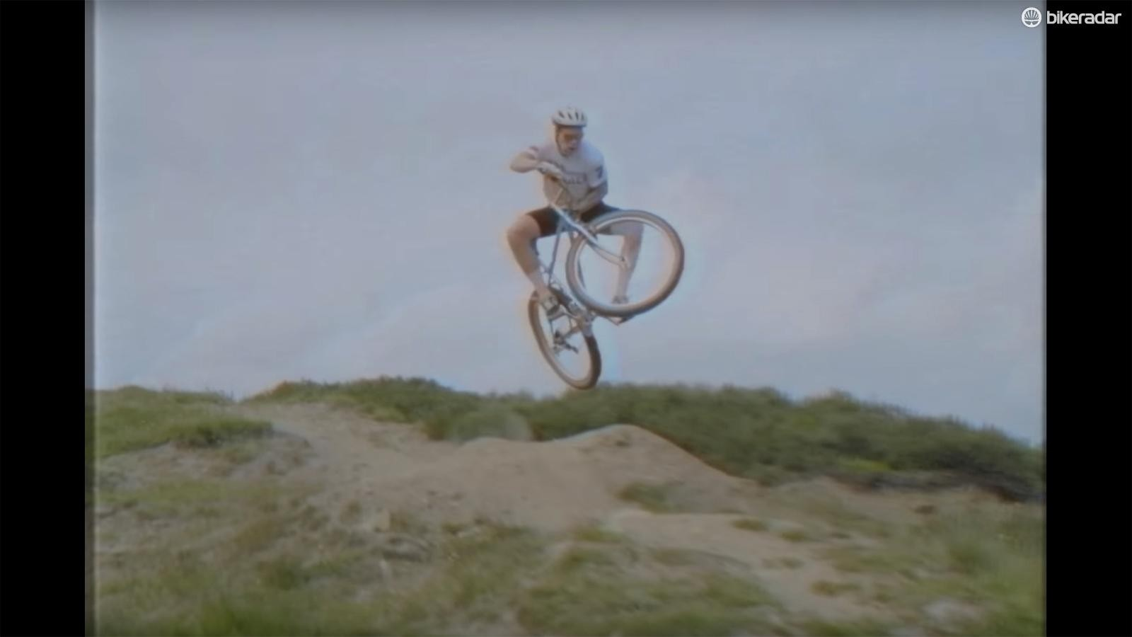 Rigid bikes and bad brakes can't stop Akrigg from having a good time