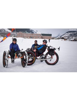 Fat trikes of different types had a strong showing at the race
