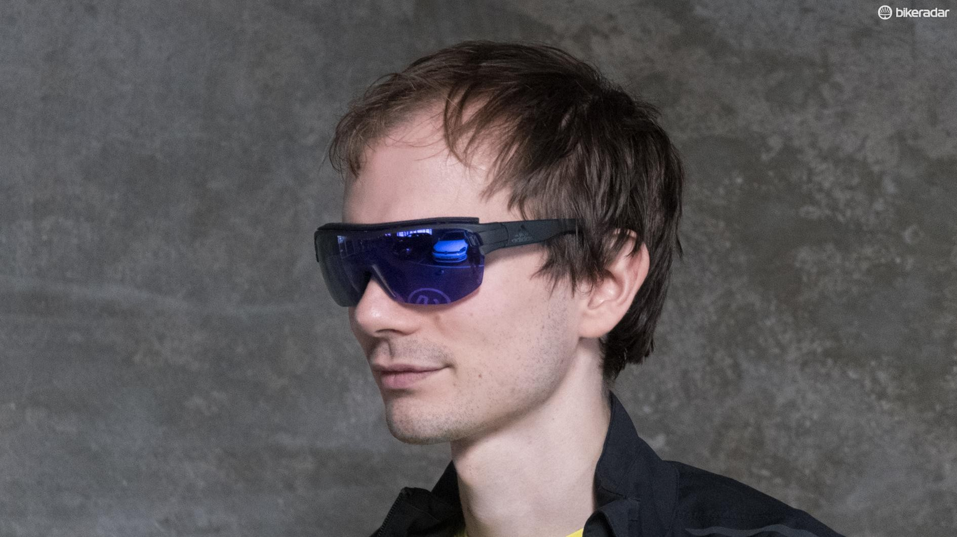 With Adidas' Zonyk Aero Pro glasses, you too could look as edgy and cool as Matthew Allen