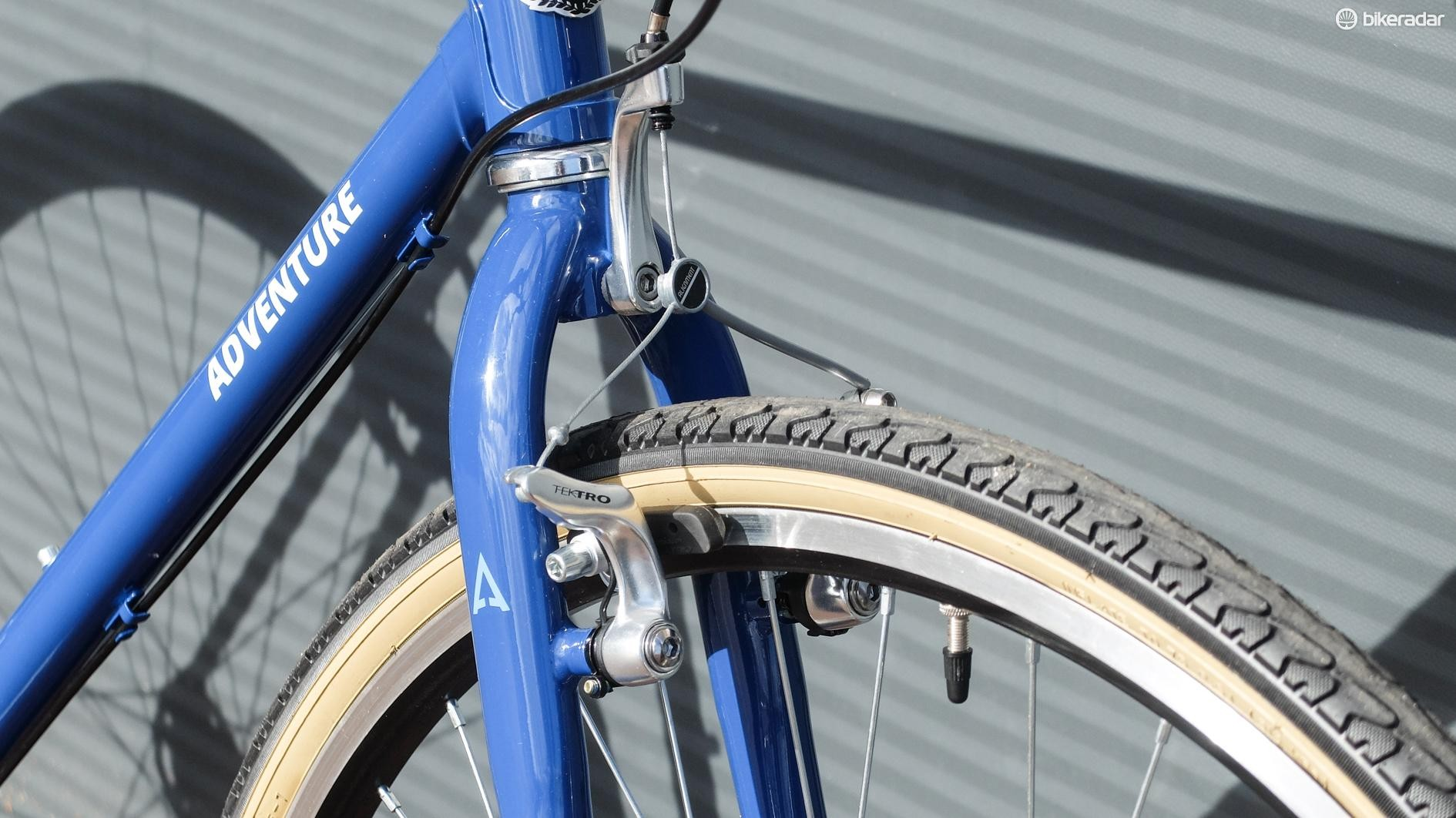 You don't see cantilever brakes that often