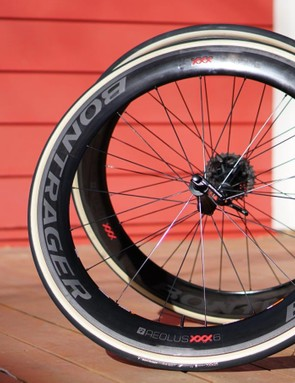 Bontrager's Aeolus XXX 6 has a monster 28mm-wide rim width but weighs 1,530g and sails through the wind