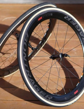 This pair of Aeolus XXX 6 clinchers weigh 1,530g