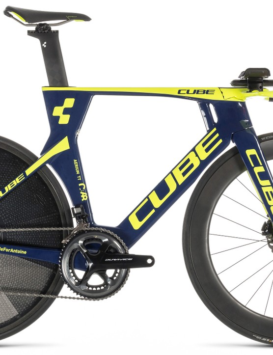 The new Cube Aerium C:68 TT features tech formerly banned by the UCI