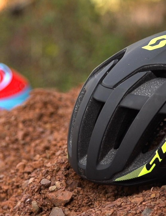 This is one of very few MTB specific aero helmets