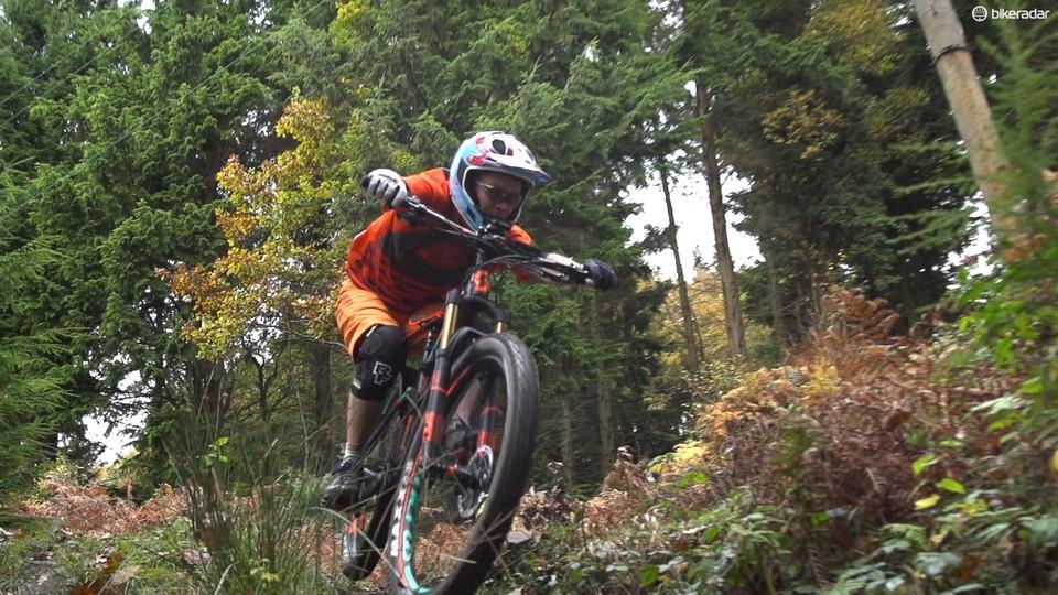 Mountain Bike Riding Position