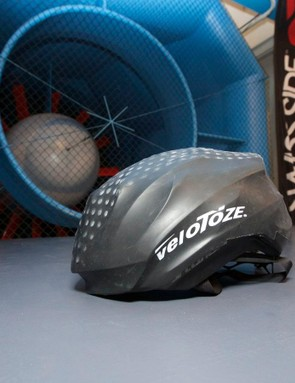 The VeloToz cover is a compact and handy solution for bad weather, but it won't necessarily make you any faster