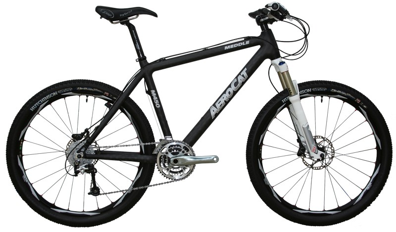 The AeroCat M450 carbon hardtail, just 22lbs for $3,599.