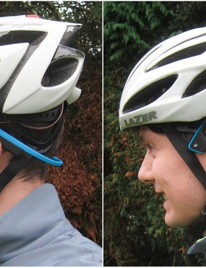 The Aftershokz don't play very nicely with some helmets