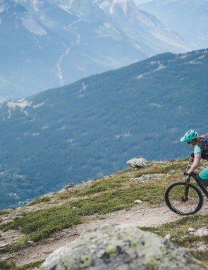 The twisting trails and tight switchbacks above Briançon in France are the spiritual home of the HB.160