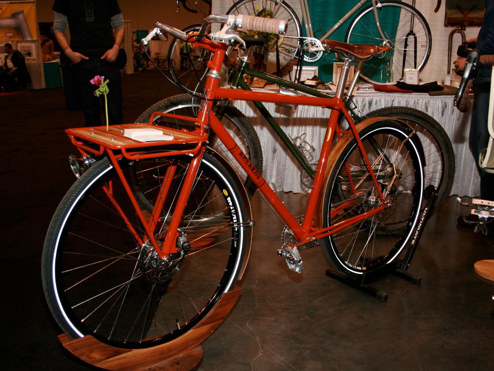 Ahearne's city bike.