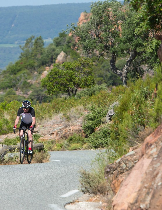 It was well over 30C and I was sweating away in the hills