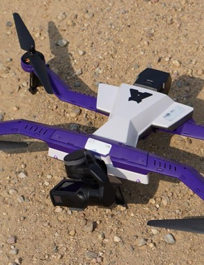 The Airdog II flies for about 15 minutes per fully charged battery