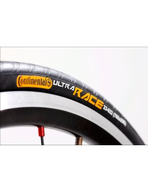 No gripes about the Continental Ultra Race tyres