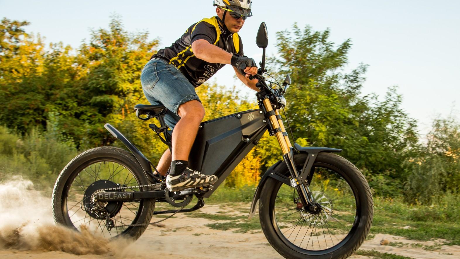 Delfast's electric bike has a claimed 380km (236m) range