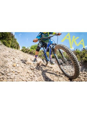 Even if it is a hardtail, the AKA won't let you take it easy