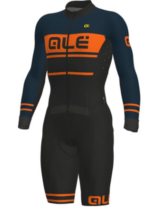Ale's Fango thermal cyclocross skinsuit