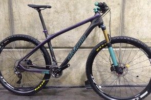 Alchemy's Oros hardtail featured a striking finish from Ethic, Alchemy's in-house paint company