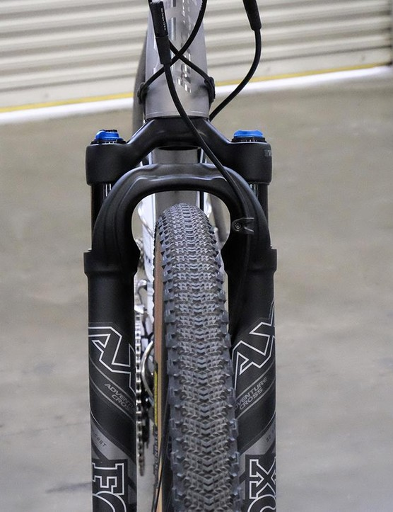 The Fox AX looks set to be one of many dedicated gravel forks