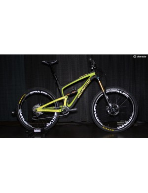 Alchemy launched its Arktos dual suspension bike at Interbike last fall. The 27.5