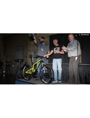 People's Choice winner was Alchemy Cycles for its Arktos full-suspension bike