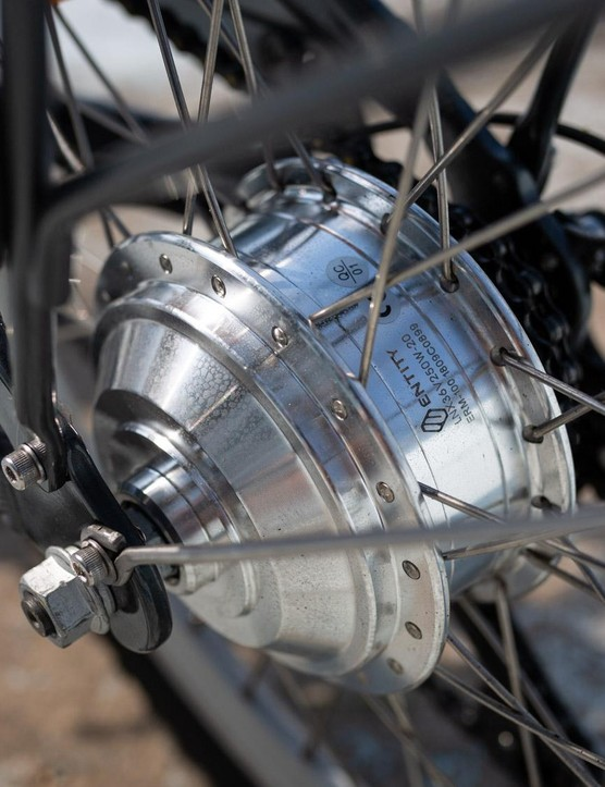 No unbranded rear hub motor here, Entity makes that too