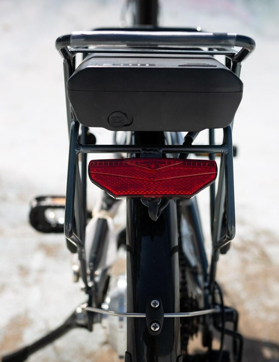 This is actually a brake light, not just a reflector
