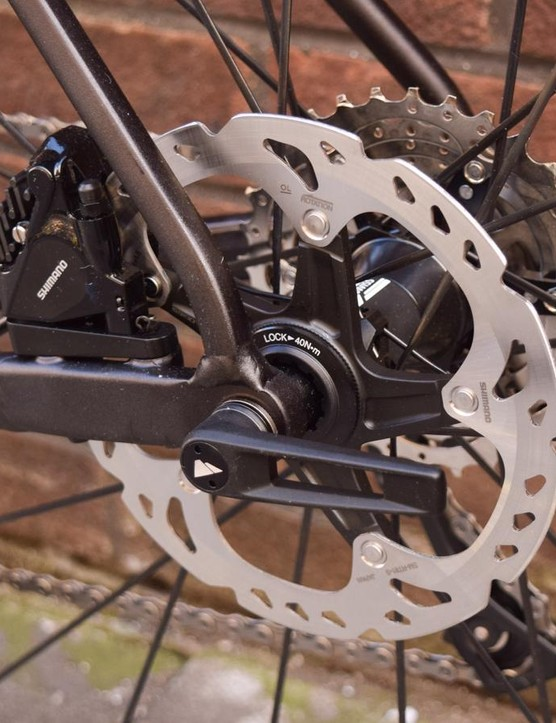 Canyon hasn't fitted mudguard mounts — again