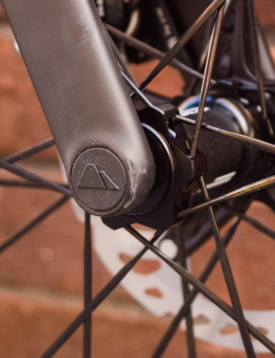 Is this the tidiest thru-axle setup you've ever seen?