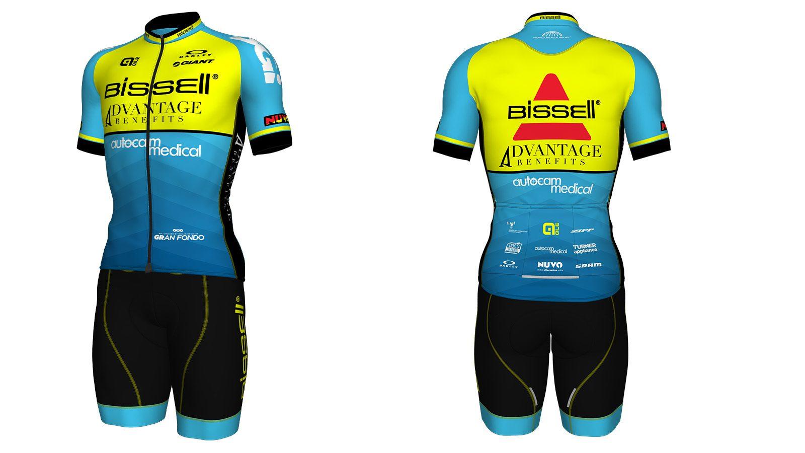 Mens Cycling Jersey Bib Short Bicycle Bike Kit Shirt Team Ride Race Clothing Top