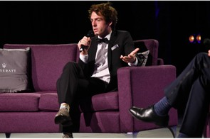 Alex Dowsett spoke passionately about the impact research funded by Action Medical Research can have on children's lives