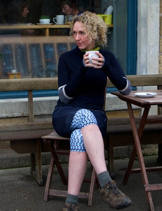 Alex Feechan, the woman behind women's mountain bike clothing brand Findra