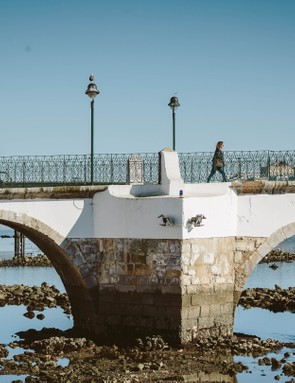 The sights of Tavira include a pretty old bridge over the river Gilão