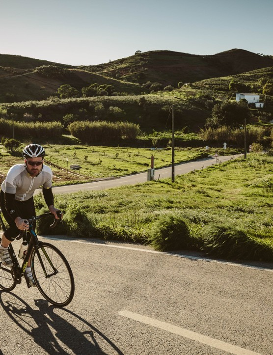 A good cycling road flatters the rider into thinking they are a better rider than they really are