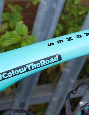 #ColourTheRoad is the tag of the Drops Cycling Team, an amateur team with a professional attitude