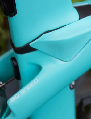 The IsoSpeed decoupler makes the Madone arguably the most comfortable aero machine out there