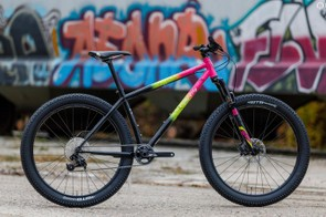 The Electric Queen is compatible with 27.5+ and 29in wheels and tires