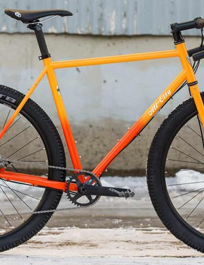 The All-City Gorilla Monsoon is a drop bar monster designed for 27.5x2.4in tires