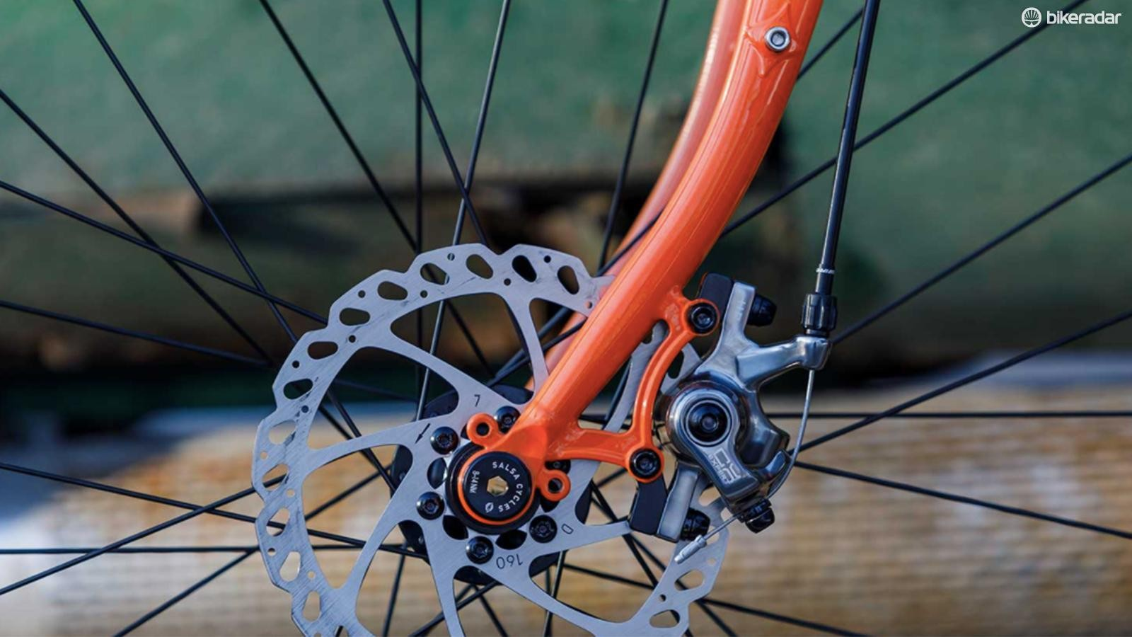 The Gorilla Monsoon uses the 15x100mm front thru-axle standard found on pre-boost mountain bikes