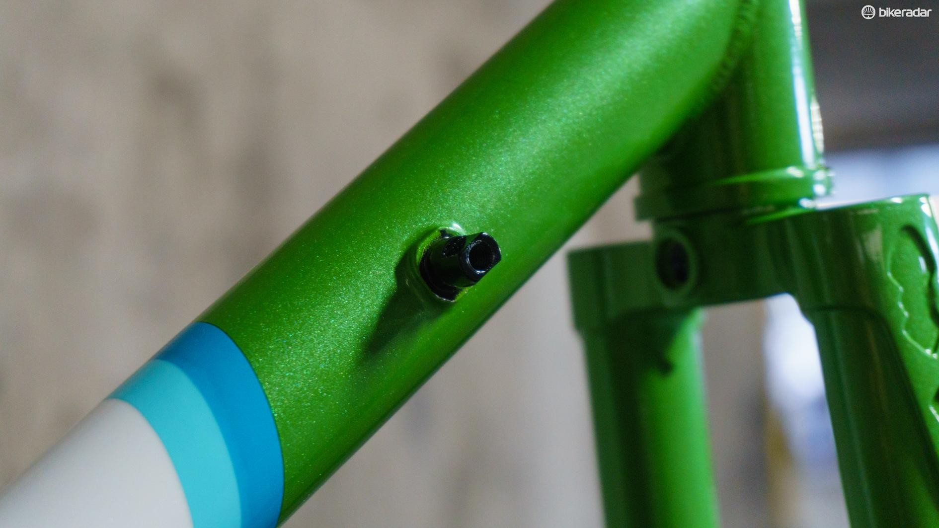 You want downtube shifters? You can have them!