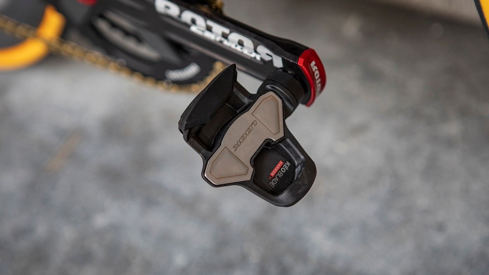 The French team opts for Look Keo Blade Carbon pedals