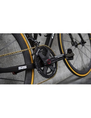 This model is fitted with Rotor's Q-Rings and power meter