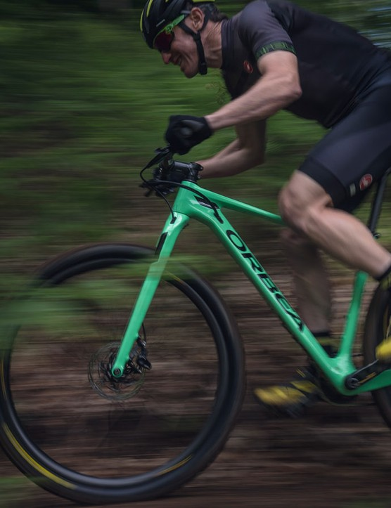 Orbea has just announced the new Alma. Pictured is the flagship Alma M-LTD